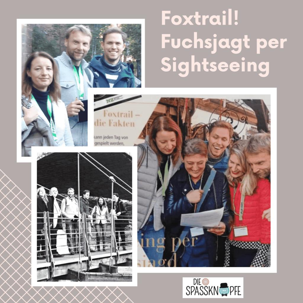 Foxtrail - Nuernberg - Sightseeing - Die Spassknoepfe