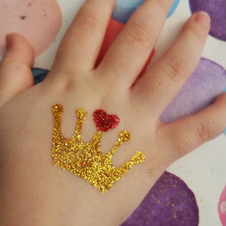 Glitzer_tattoo - kinder_event - kinderschminken - Veranstaltung - nuernberg